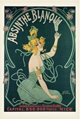 Absinthe Blanqui Advertising Art