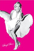 Marilyn Monroe: The Seven Year Itch (Pink) Marilyn Monroe
