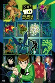 Alien Force Characters Ben 10