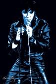 Icon in Blue Elvis Presley