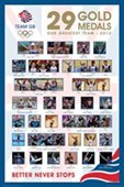 29 Superstar Olympians Team GB - London 2012