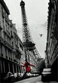 La Veste Rouge Romantic City Of Paris