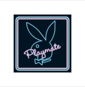 Neon Bunny Playboy