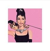 Audrey Hepburn - Pink Audrey Hepburn