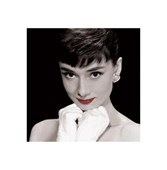 White Gloves & Red Lips Audrey Hepburn