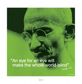 Blind World Mahatma Gandhi