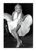 Iconic Movie Image Marilyn Monroe in The Seven Year Itch