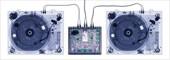 X-Ray Decks X-Ray Record Desks and Mixer