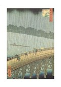 Ohashi Bridge & Atake in a Sudden Shower Utagawa (Ando Tokutaro) Hiroshige