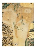 Sea Serpents, 1904-07 (Detail) Gustav Klimt