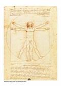 Vitruvian Man, 1492 Leonardo Da Vinci