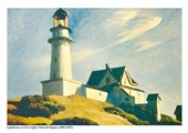 Lighthouse at Two Lights Edward Hopper