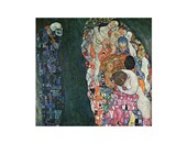Life and Death Gustav Klimt