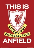 This is Anfield (Liverpool Football Club badge) Liverpool Football Club