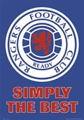 Rangers FC Club Crest Glasgow Rangers Football Club