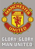 Man Utd FC Club Badge Manchester United Football Club