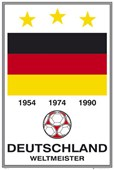 Germany -  World Cup Winners Deutschland Football Team