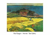 The Harvest  Eug�ne Henri Paul Gauguin
