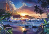 Beyond Hana's Gate�by Christian Riese Lassen Fantasy Art 8 Sheet Wall Mural