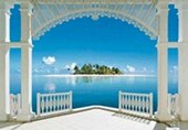 A Perfect Day 8 Sheet Tropical Wall Mural