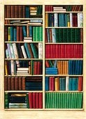 Bibliotheque 4 Sheet Wall Mural