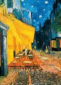 Terrasse de Caf� la Nuit 4 Sheet Van Gogh Wall Mural