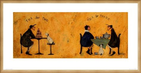 Framed Framed Tea For Two Tea For Three - Sam Toft