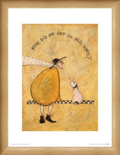 Framed Framed How Did We Get So Old, Doris? - Sam Toft