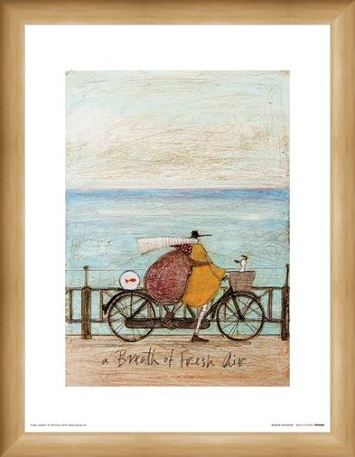 Framed Framed A Breath of Fresh Air - Sam Toft