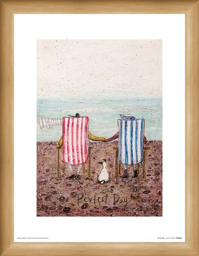Framed Framed Perfect Day - Sam Toft