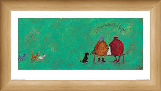 Framed Framed Putting the World to Rights - Sam Toft