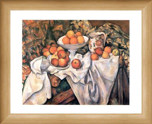 Framed Framed Mele ed Arance - Paul Cezanne