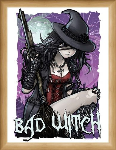 Framed Framed Magical Mischief - Bad Witch