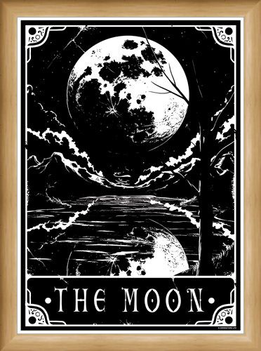 Framed Framed The Moon - Deadly Tarot