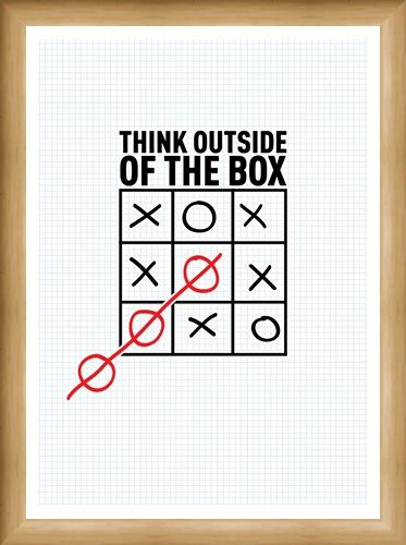 Framed Framed Think Outside The Box - Boxing Clever