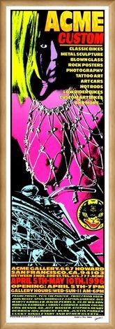 Framed Framed Acme Custom 500 - Frank Kozik