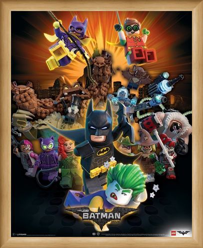 Framed Framed Boom! - The Lego Batman Movie