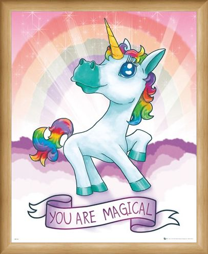 Framed Framed Unicorn Magic - Your Are Magical
