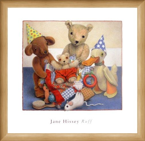 Framed Framed Party Hats - Jane Hissey