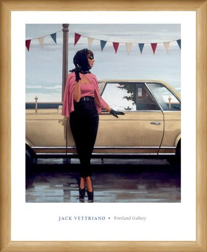 Framed Framed Suddenly One Summer - Jack Vettriano