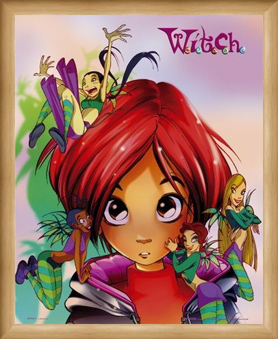 Framed Framed Will and Friends - Disney's W.I.T.C.H.