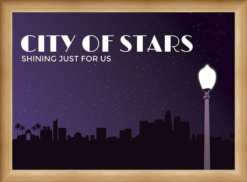 Framed Framed Shining Just For Us - City of Stars