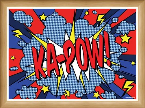 Framed Framed Ka-Pow! - Comic Sounds