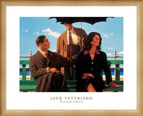 Framed Framed Someone Else's Baby - Jack Vettriano