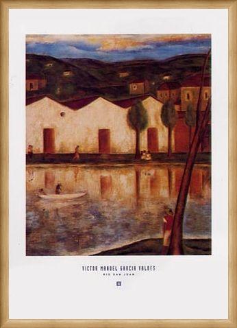 Framed Framed Rio San Juan - Victor Manuel Garcia Valdes