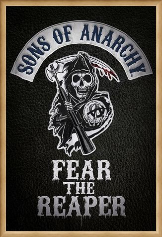 Framed Framed Fear The Reaper - Sons of Anarchy