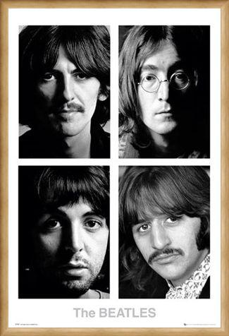 Framed Framed The White Album - The Beatles