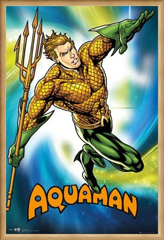 Framed Framed Aquaman - DC Comics