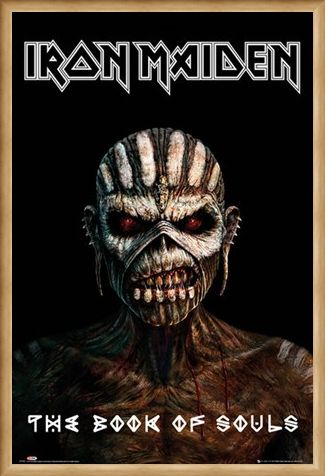 Framed Framed The Book Of Souls - Iron Maiden