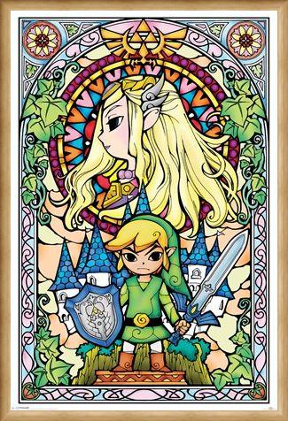 Framed Framed Holy Hyrule - The Legend Of Zelda